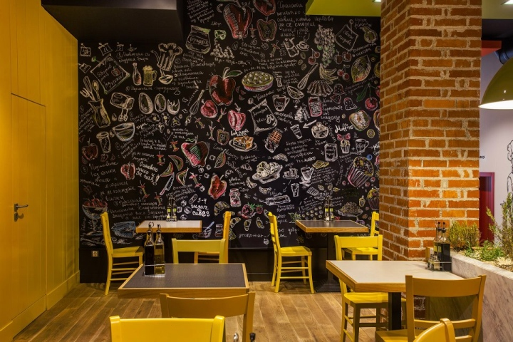 Tropsfood fast food restaurant by TDesign Sofia