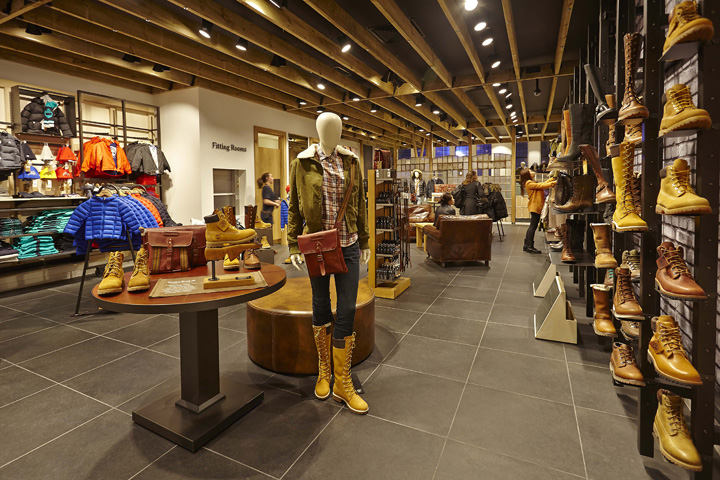 Timberland Flagship Store By Green Room Glasgow UK