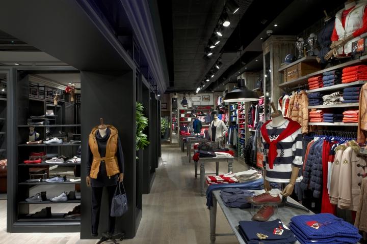 US Polo Assn store by Geomim Istanbul  Turkey