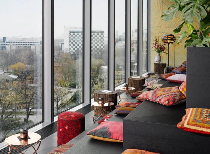 25hours Hotel Bikini by Studio Aisslinger Berlin
