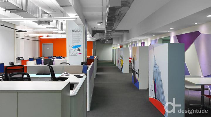 Myntra office by Designtude Bangalore  India