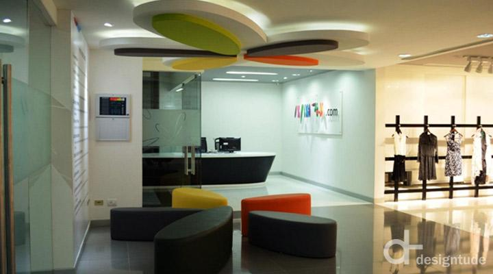 Myntra Office By Designtude Bangalore India Retail