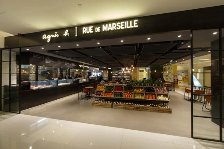 » agnès b. Rue de Marseille store. Hong Kong