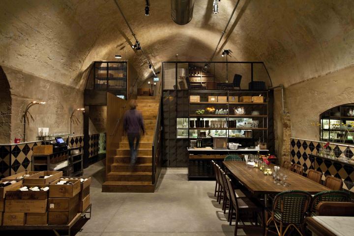 wine bar  Retail Design Blog