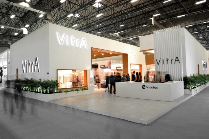VitrA UNICERA 2014 fair stand by SO ARCHITECTURE Istanbul  Turkey