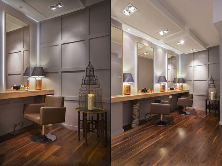 Aveda Lifestyle salon  Spa by Reis Design London  UK