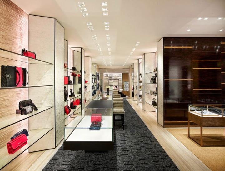 187 Chanel Store By Peter Marino Hamburg Germany