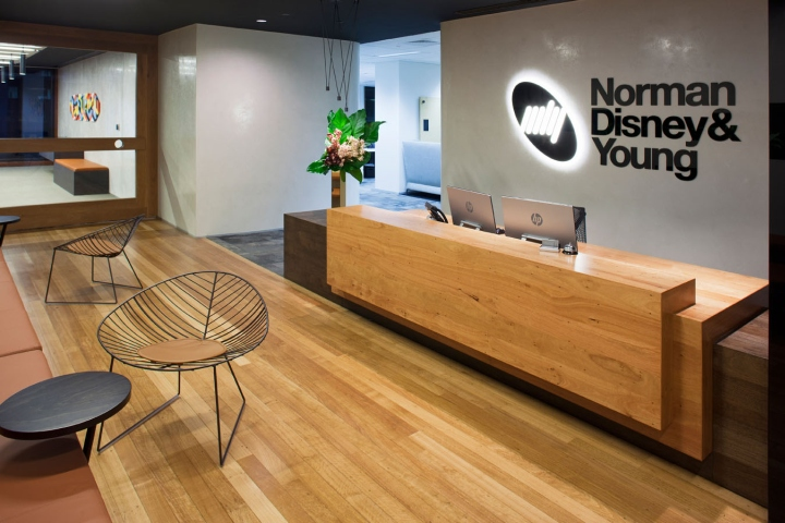 Norman Disney Amp Young Office By MKDC Perth Australia