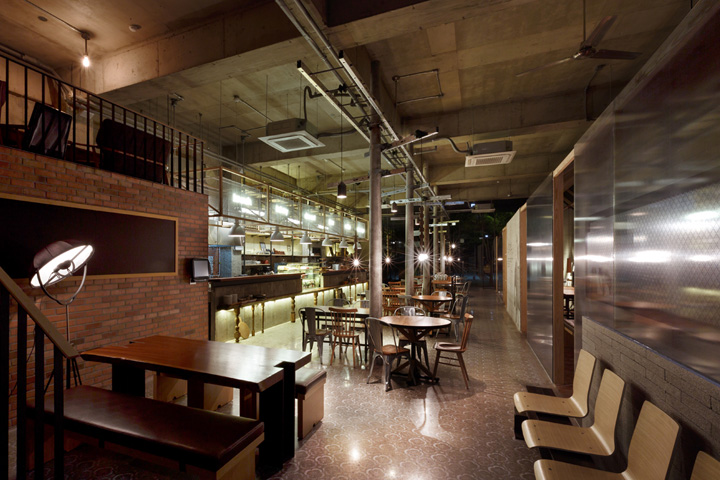 Caf Nangman by Betwin Space Design Gwangju  Korea