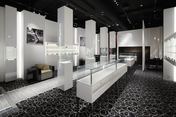 187 Evance Luxury Watch Shop By Ichiro Nishiwaki Design