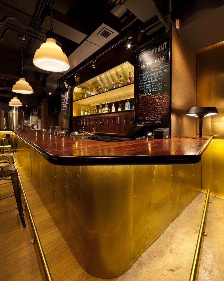 black paint for leather sofa kivik cover washing » tipping point brewery, bar and restaurant by arboit ...