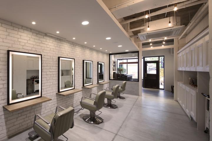 BARL hair salon by Pebble Okayama  Japan