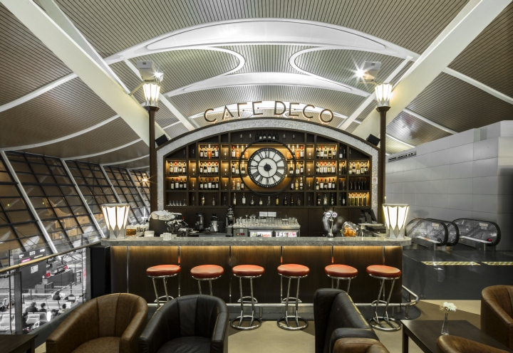 Caf Deco by 4N Architects Shanghai  China
