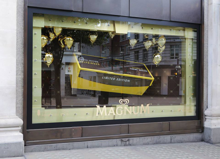 Free Wallpaper Fall Colours 187 Make My Magnum Windows At Selfridges By Prop Studios