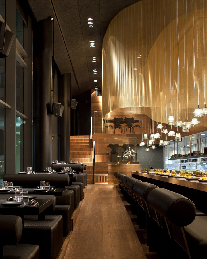 unique kitchen tables table with stools topolopompo restaurant by baranowitz kronenberg ...