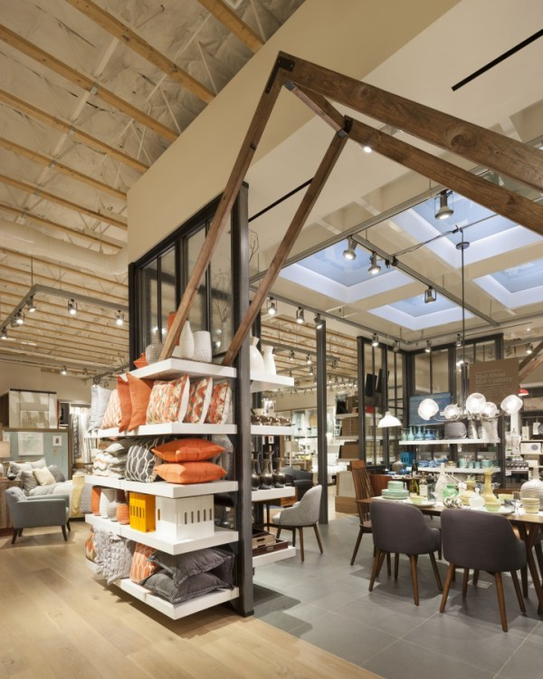 187 West Elm home furnishings store by MBH Architects Alameda California