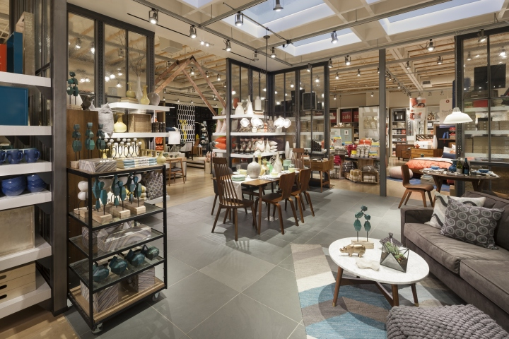 West Elm home furnishings store by MBH Architects