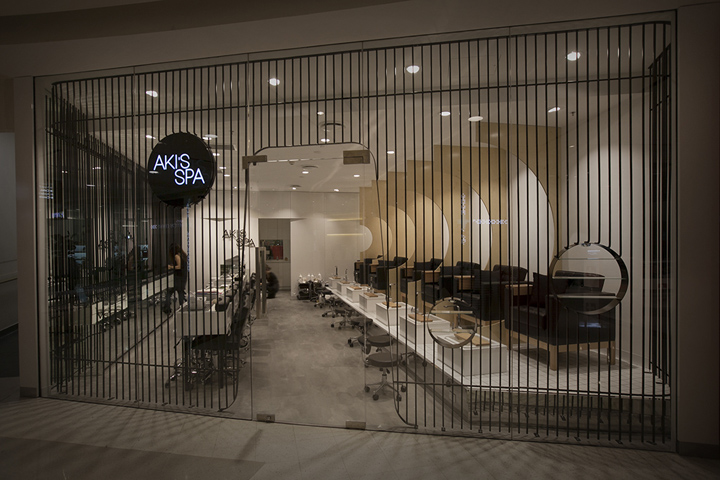 Akis Spa by Studio MKZ Sydney  Australia  Retail Design