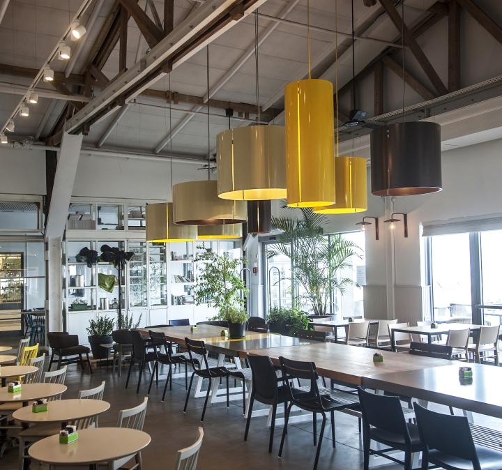 LovEat coffee shop by Ronen Levin  Studio beam Tel