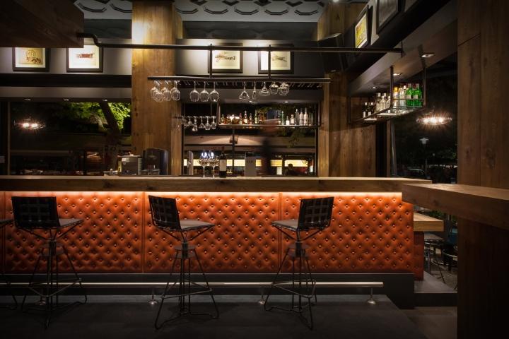 98BAR by Gagos Interior Architectural Design Larissa  Greece  Retail Design Blog