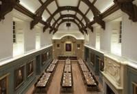 Dining Hall, Trinity Hall lighting design by Hoare Lea ...