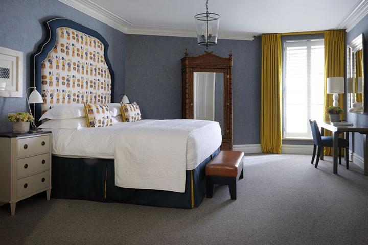 HAM YARD Hotel by Kit Kemp London  UK