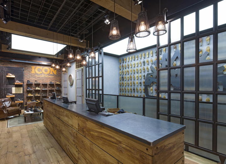 Timberland flagship store by DalzielPow London  UK