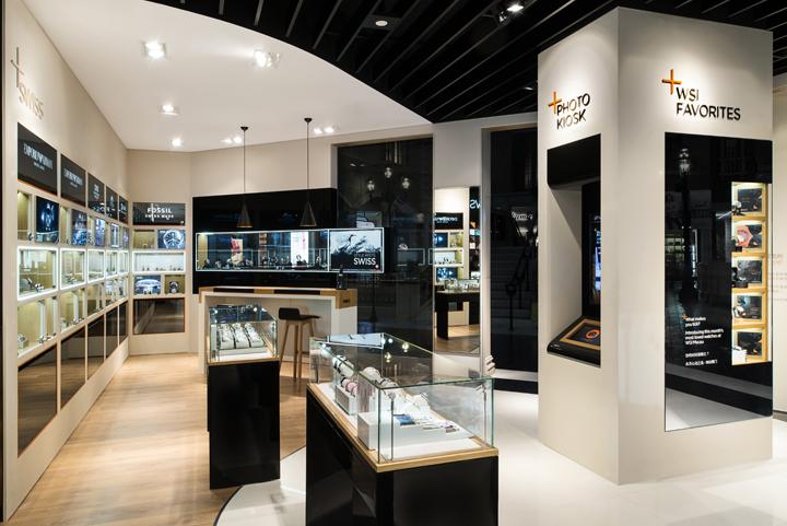 WSI flagship watch store by Start Design HK Macau