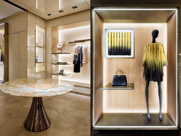 FENDI flagship store by Curiosity London  UK