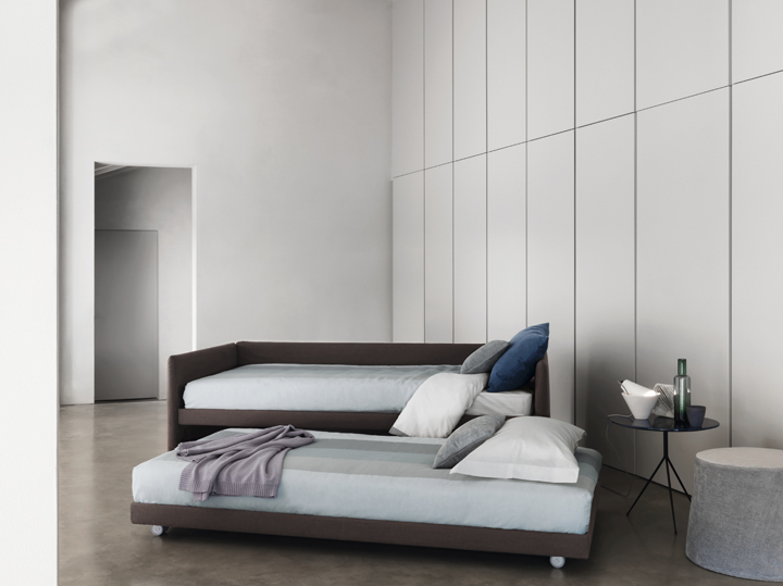 Duetto bed by Centro Ricerche Flou