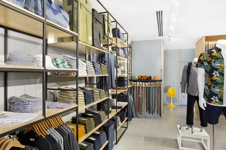 澳大利亚布里斯班simple先生服装店设计 米尚丽店装网
