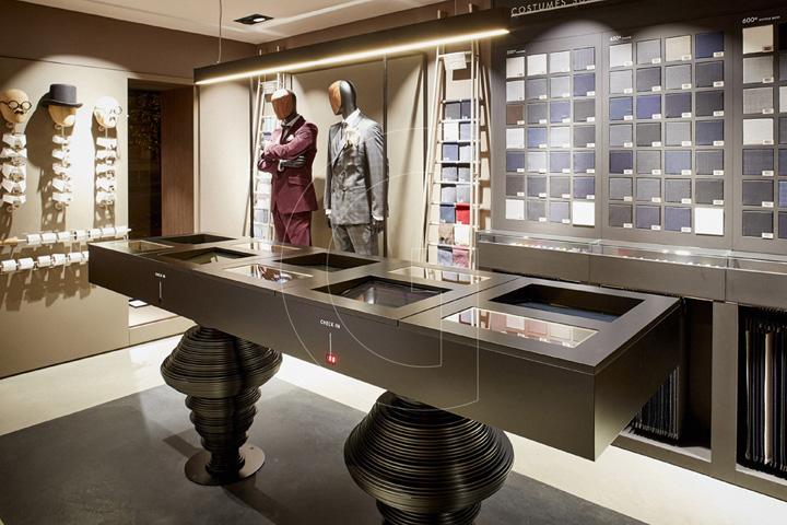 TAILOR CORNER store by GENEROUS Paris  France