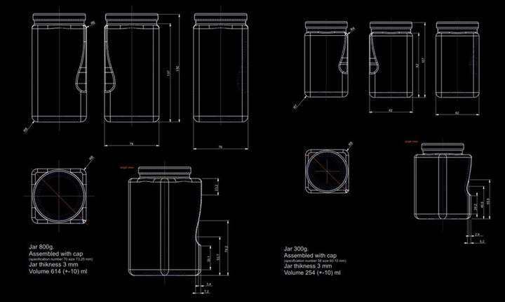 TRT drop honey packaging by Solovyov Design 04 TRT drop honey packaging by Solovyov Design