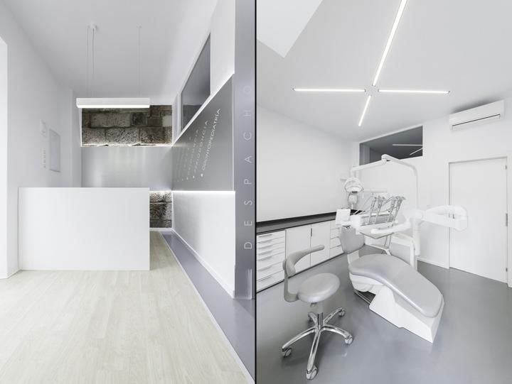 Dental Clinic by NAN Arquitectos Pontevedra  Spain