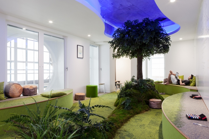 Essence offices by Peldon Rose London  UK