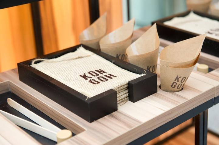 Kongoh Popup store by Egue y Seta BarcelonaSpain 09 Kongoh Pop up store and branding by Egue y Seta, Barcelona Spain