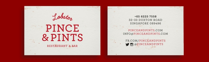 Pince Pints restaurant branding by Bravo Singapore 11 Pince & Pints restaurant branding by Bravo Company, Singapore