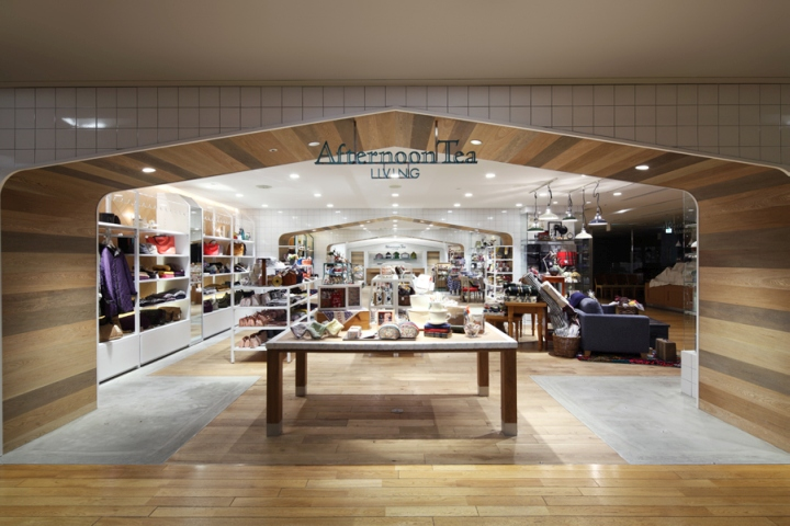 Afternoon Tea LIVING Store by HEADSTARTS Tokyo  Japan