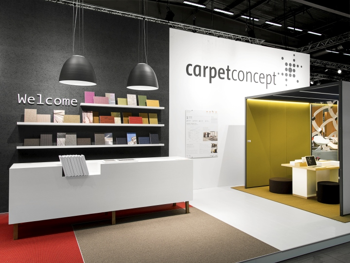 Carpet Concept Stand At Stockholm Furniture Fair 2015 By