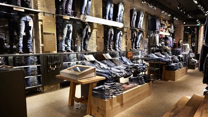 Jack  Jones store by Riis Retail Copenhagen  Denmark
