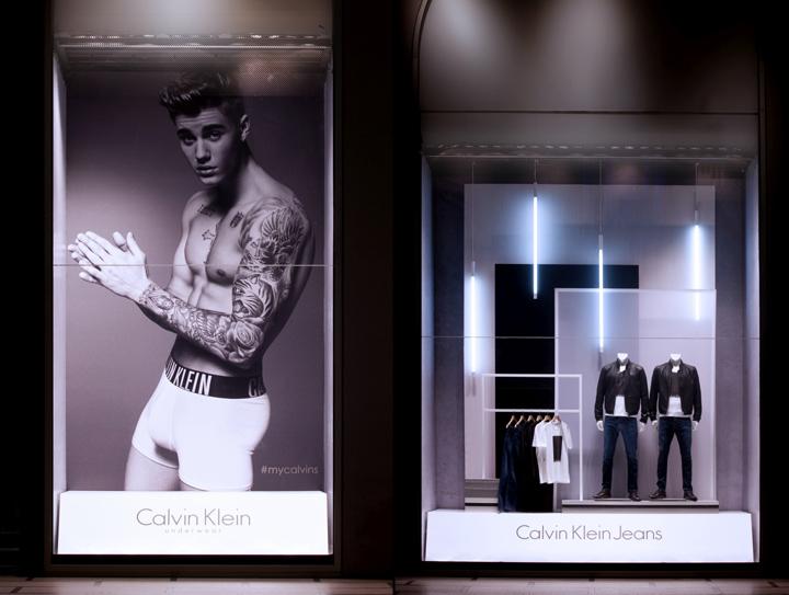 Calvin Klein Windows Milan  Italy