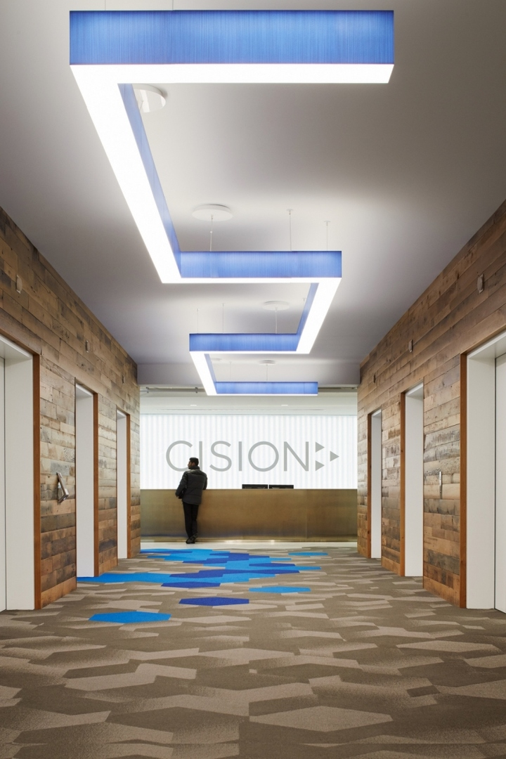 Cision Offices By Eastlake Studio Chicago Illinois
