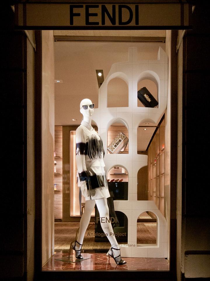 Fendi Windows 2015 Spring Paris  France  Retail Design Blog
