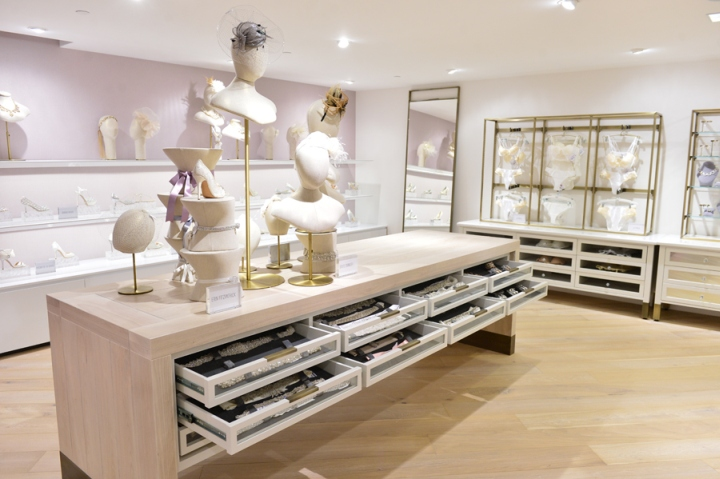 Kleinfeld Bridal Store By HBC Store Planning At Hudsons