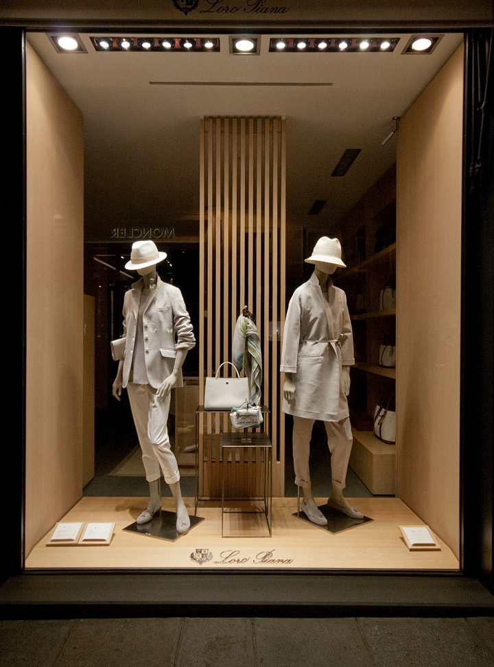 Loro Piana Windows 2015 Spring Paris  France