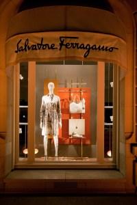 Retail Design Blog  Salvatore Ferragamo Windows 2015 ...