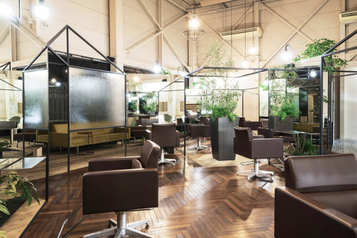 Vision Atelier Hair Salon by Takehiko Nez Architects