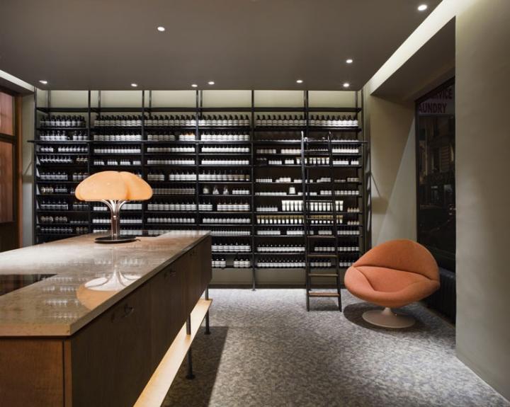 Aesop Store Paris  Retail Design Blog