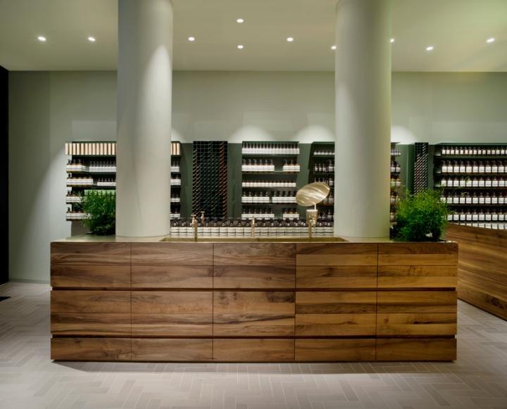 Aesop Store by Philipp Mainzer Frankfurt  Germany