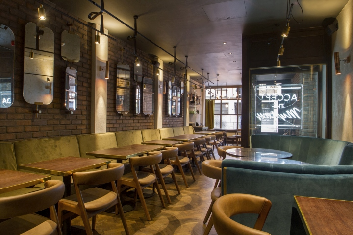 Sackvilles Bar  Grill by B3 Designers London  UK